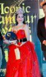 ACTRESS VANDANA GAUTAM WINNER OF  THE CROWN OF ICONIC GLAMOUR MISS WORLD 2021