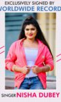 Nisha Dubey Actress Singer Signed By Worldwide Records